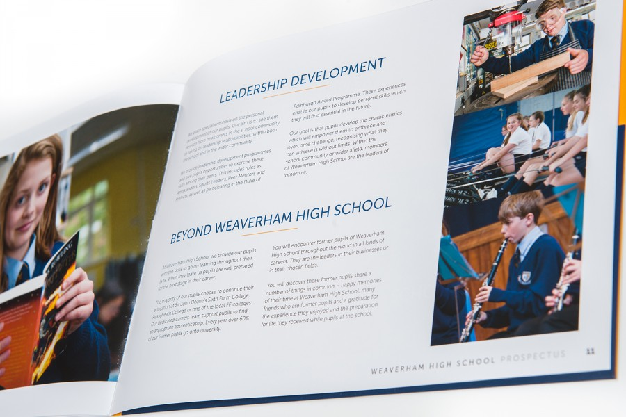 Weaverham School Prospectus by Jolt Media