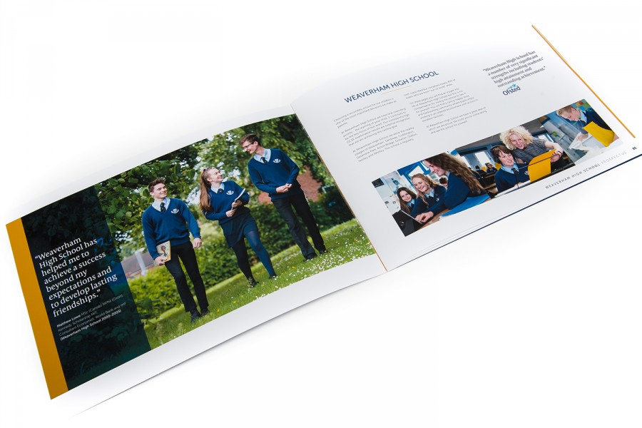 Inside Pages Weaverham School Prospectus
